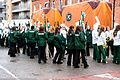 Colorado State University Marching Band, Colorado, USA - Getting Ready For The 2013 Patrick's Day Parade (8566943248).jpg