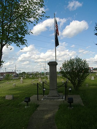 Colored Soldiers Monument in Frankfort - Image: Colored Soldiers Monument in Frankfort 2