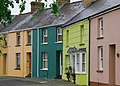Colourful Houses Haverfordwest Pem.JPG