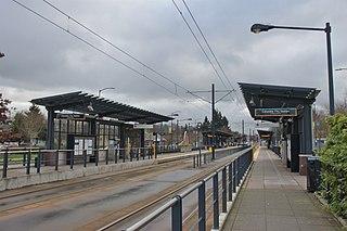 Columbia City station railway station