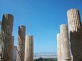 Columnes dòriques dels Propileus, Acròpoli d'Atenes.JPG
