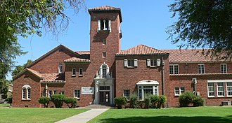 National Register of Historic Places listings in Colusa County, California - Image: Colusa 1926 high school N end 1