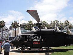 Comic-Con 2010 - Battle- Los Angeles helicoper (4874439019).jpg
