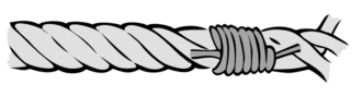 Whipping knot - Common whipping knot