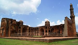 Indo-Persian culture - Ruins of a Madrassa built by Mahmud Gawan, the Bahamani minister