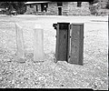 Concrete nature trail markers and forms used in making same. ; ZION Museum and Archives Image 007 01 064 ; ZION 8710 (8fbc207b09354016a0a67584c8d72fb4).jpg