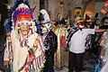 """Concurso de disfrazes tradicionales con màscaras de madera,en el Festival """"Xantolo"""" 2013..jpg"""