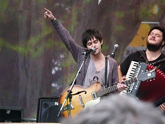 Conor Oberst - Oberst in 2010 performing at the Hardly Strictly Bluegrass music festival in San Francisco