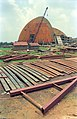 Convention Centre under Construction - Science City - Calcutta 1995-June-July 159.JPG
