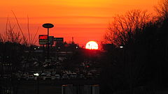 Cookeville-interstate-drive-sunset-tn1