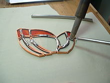Foiled Glass Panels How To Get Lines On Glass