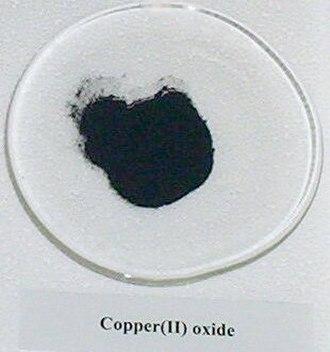 Copper(II) oxide - Image: Copper I Ioxide