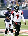 Corey Ivy and Michael Vick, November 2006.jpg