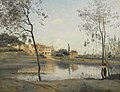 Corot - VILLE D'AVRAY L'ÉTANG, LA MAISON DE M. COROT PÈRE ET SON KIOSQUE, R17.jpg