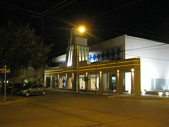 Corral de Bustos - The Casino in Corral.