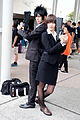 Cosplayers of Shinya Kogami and Akane Tsunemori, Psycho-Pass at FF26 20150830.jpg