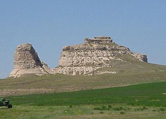National Register of Historic Places listings in Morrill County, Nebraska - Image: Courthouse jail rocks