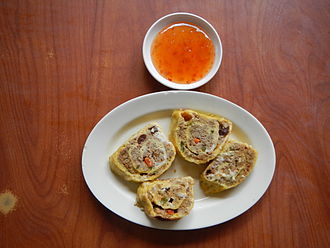Crab meat - Crab meat roll (Philippines)