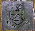 Crest of arms, Prehen House - geograph.org.uk - 1037290.jpg