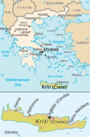 Greece and Crete