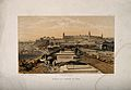 Crimean War; cityscape view of hospital and cemetary at Scut Wellcome V0015435.jpg