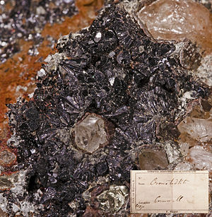 Cronstedtite - Image: Cronstedtite Pisani