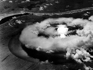 311th Air Division - Aerial photography of nuclear test