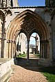 Crowland Abbey - west door - geograph.org.uk - 366104.jpg