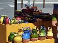 Cruches vernissées sur le marché d'Aubagne.jpg