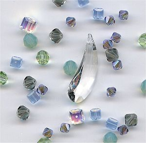 Lead glass - Lead crystal beads