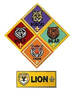 Cub Scout ranks (Boy Scouts of America) 2018.jpg