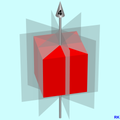 Cube with planes of reflection RK01.png