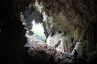 Candelaria Caves - Pit cave