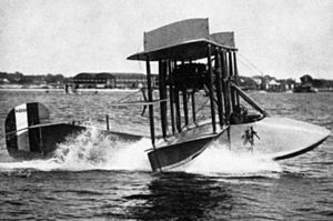 Aviation Cadet Training Program (USN) - Many World War I naval pilots trained in this Curtiss Model F seaplane.