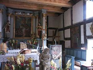 Czapielsk - Church altar in Czapielsk - Poland