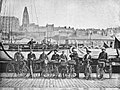Départ pour l'Angleterre de la deuxième caravane du Docteur Vélo (1892).jpg