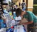 DPCPBC distributes Pool Safely materials at Boca Raton Community High SchoolPCPBC distributes Pool Safely materials at Boca Raton Community High School (23285489084).jpg