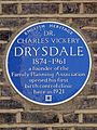 DR. CHARLES VICKERY DRYSDALE 1874-1961 a founder of the Family Planning Association opened his first birth control clinic here in 1921.jpg