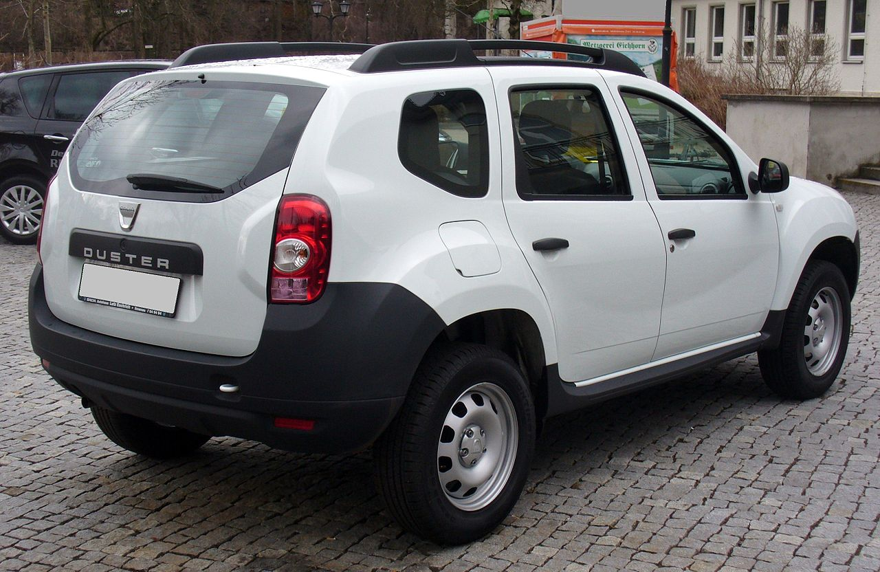 datei dacia duster ambiance 1 6 16v 4x2 artikswei heck jpg wikipedia. Black Bedroom Furniture Sets. Home Design Ideas