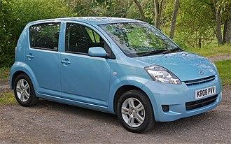 Daihatsu Sirion - Image: Daihatsu Sirion 1.0 SE Flickr mick Lumix