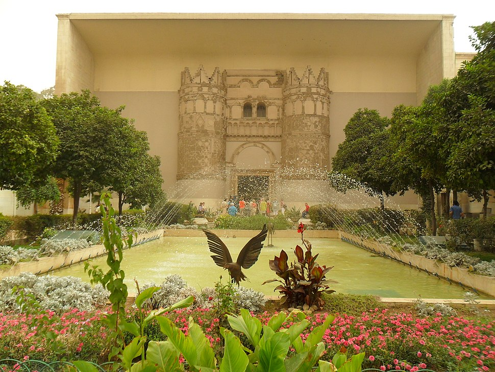 Damascus National Museum Umayyad Castle Gate