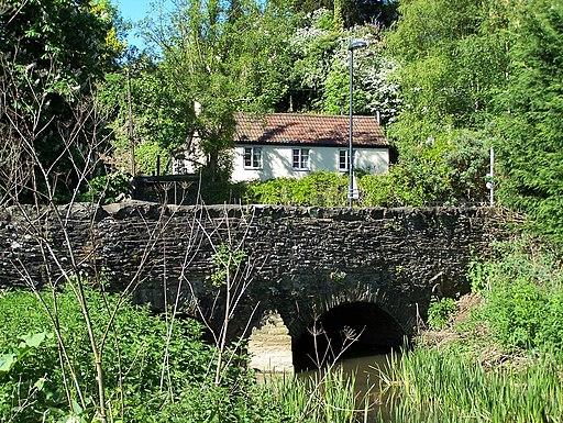 Damsons Bridge Winterbourne Down (geograph 4302812)