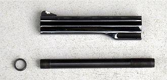Dan Wesson Firearms - Dan Wesson, barrel system