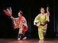 Danses d'Okinawa (musée Guimet, Paris) (11160734505).jpg