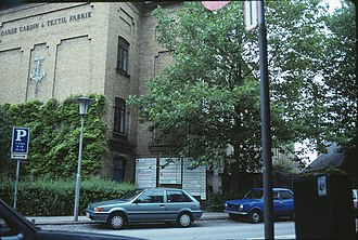 DDC-I - DDC International A/S was housed in a converted textile mill in Lyngby, Denmark, here seen in 1990.