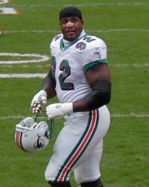 Daryl Gardener - Gardner with the Miami Dolphins.