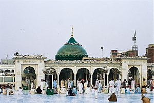 Data Darbar - The shrine of Ali Hujwiri is one of Pakistan's most important Sufi shrines