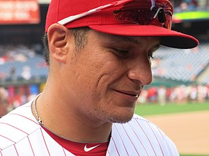 David Hernandez (baseball) - Hernandez with the Phillies in 2016