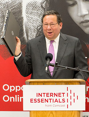 David L. Cohen - Image: David L. Cohen Comcast Internet Essentials Program