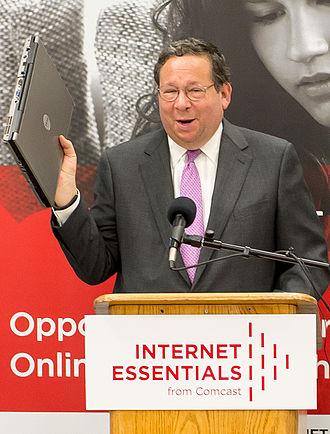 David L. Cohen - Image: David L. Cohen Comcast Internet Essentials Program